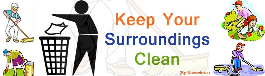 how to keep surrounding clean