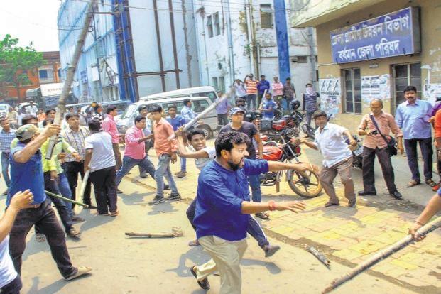Violence marred West Bengal Panchayat polls